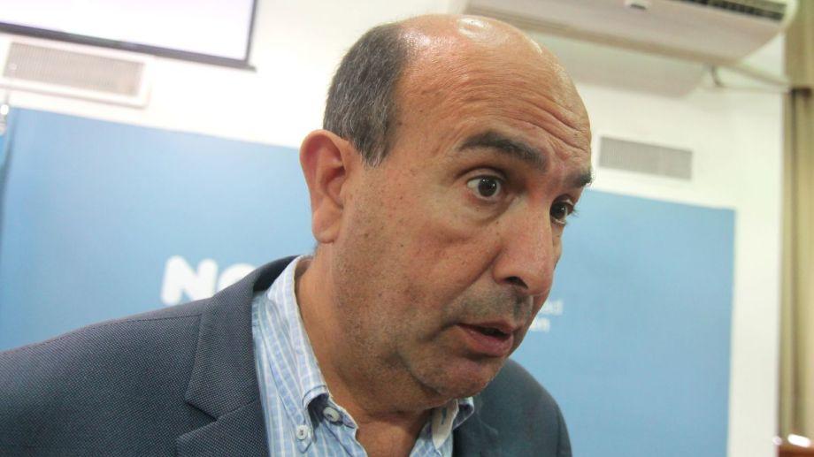 El secretario de Coordinación del municipio, Marcelo Bermúdez. Foto: Archivo oscar Livera