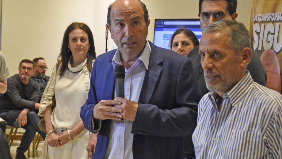 Marcelo Bermúdez se hizo cargo de la derrota y despegó a Quiroga el domingo 22. Ahora debe resolver si será concejal. Foto Oscar Livera