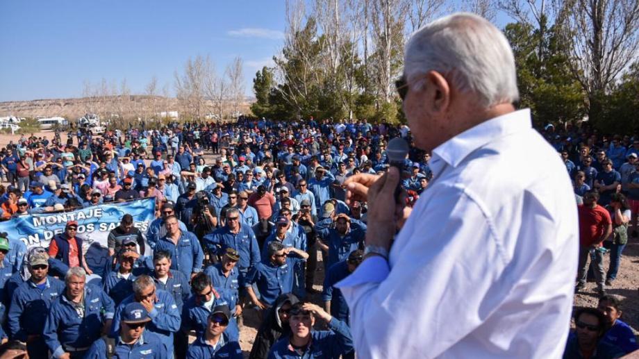 Pereyra fue critico con la política de Mauricio Macri (Foto: gentileza)