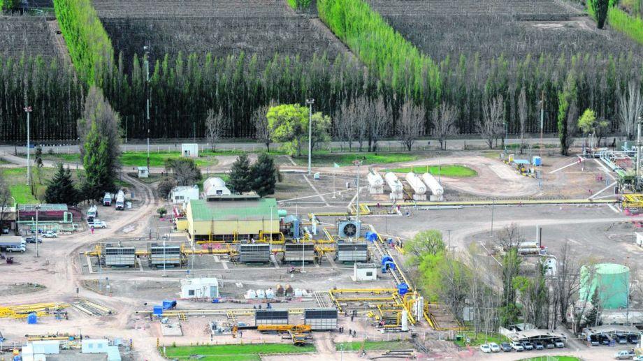 EFO es la principal productora de gas en Río Negro. Otro bloque con mucha extracción es Agua Salada.