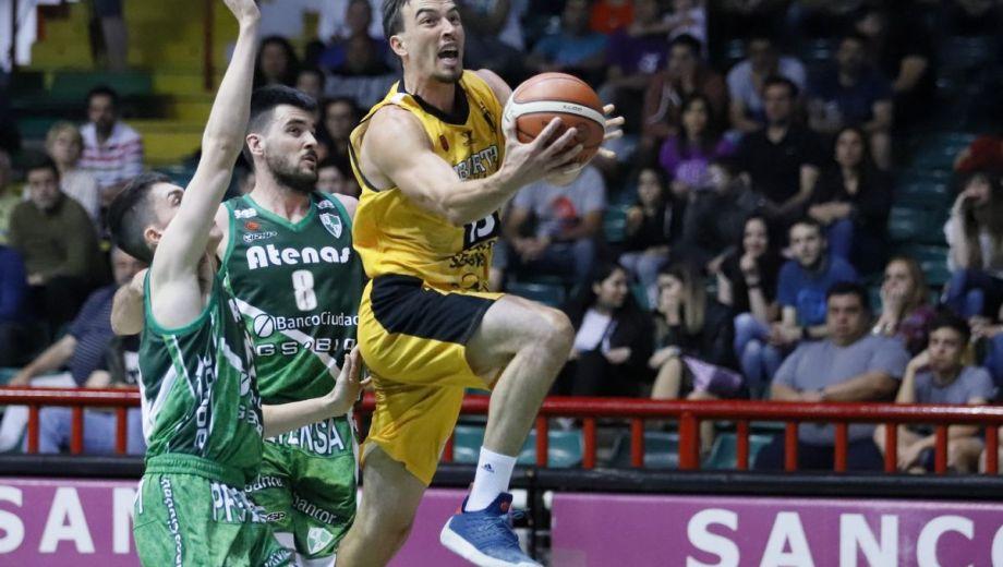 El exEspañol anotó 17 puntos en la derrota de su equipo ante Atenas. (foto: La Liga Nacional)