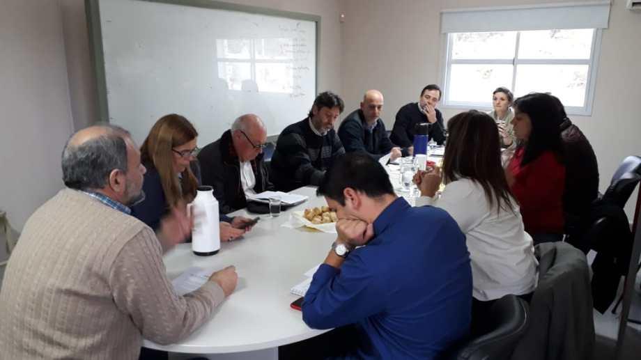 En la UNRN se realizó un encuentro previo para organizar la mecánica. Foto: gentileza.