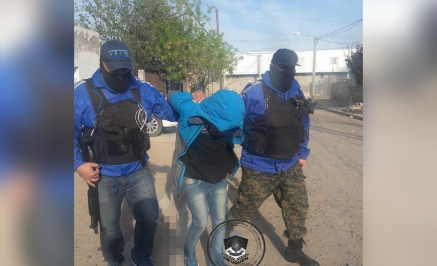 Ortega fue detenido durante un allanamiento esta mañana. (Foto: Gentileza.-)