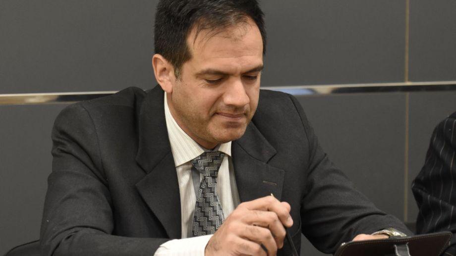 Rodríguez Lastra, durante una de las audiencias del juicio realizado en Cipolletti. (Archivo)