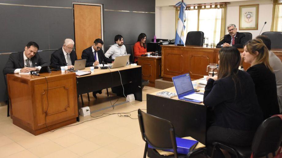 La la audiencia de este martes se desarrollaron los alegatos en el caso Rodríguez Lastra. Foto: Florencia Salto.
