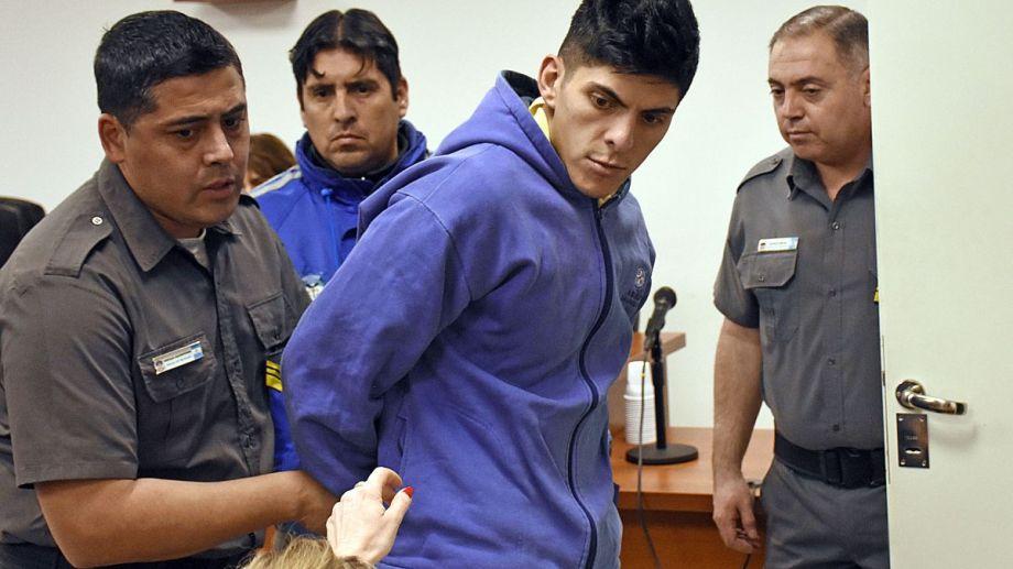 Alfredo Escobar, durante la audiencia de formulación de cargos por el femicidio de Cielo López. Foto Archivo: Flor Salto.