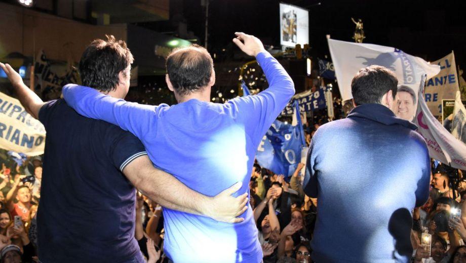 Después de 29 años cambiará el signo político que gobierna la ciudad de Neuquén. Foto Florencia Salto