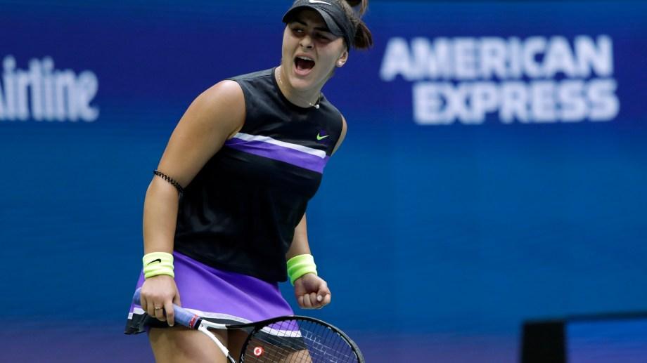 Andreescu jugó un partidazo y ganó su primer Grand Slam. (Foto: AP)