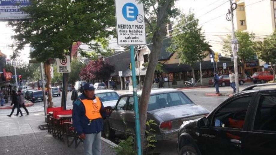 El estacionamiento medido y pago no rige desde el inicio de la cuarentena. Archivo