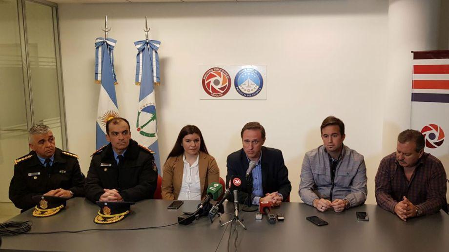 El fiscal jefe Agustín García Foto: Prensa Ministerio Público Fiscal