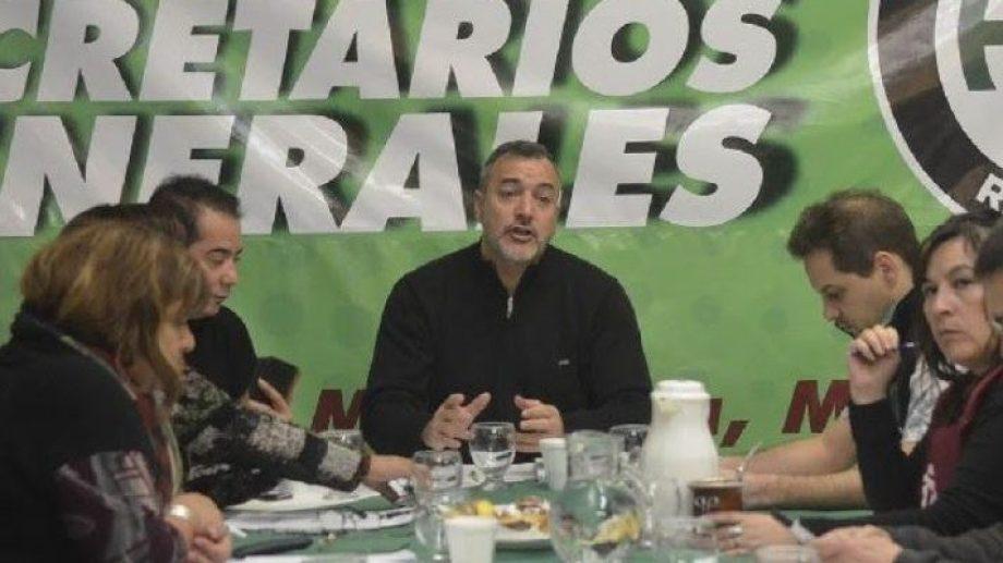 Aguiar también pidió que el gobierno no utilice la violencia para desalojar los cortes. Foto: archivo.