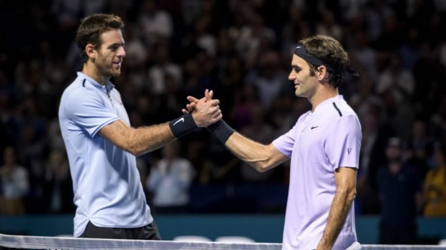 Delpo y Roger reeditarán el amistoso que disputaron en 2012.