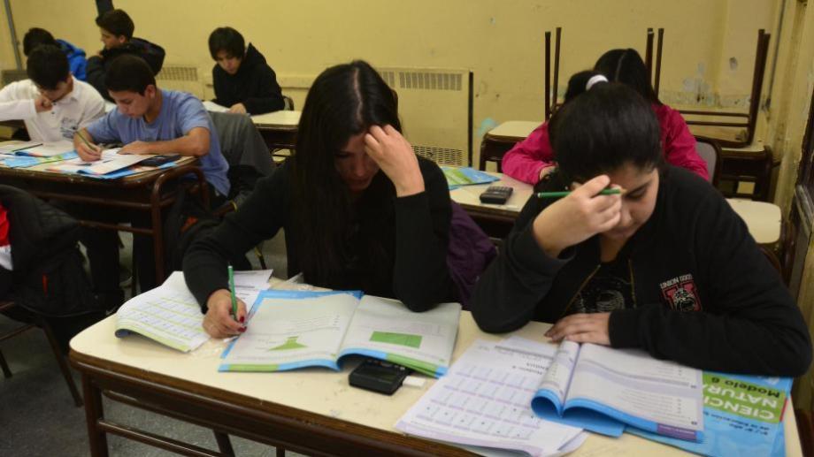 En Neuquén el gremio docente ATEN mantiene su rechazo a las evaluaciones del operativo Aprender. (Archivo).-