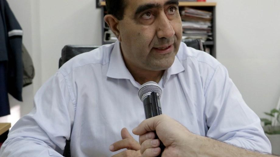 José Luis Artaza, secretario de Economía y Hacienda. Foto ciudaddeneuquen