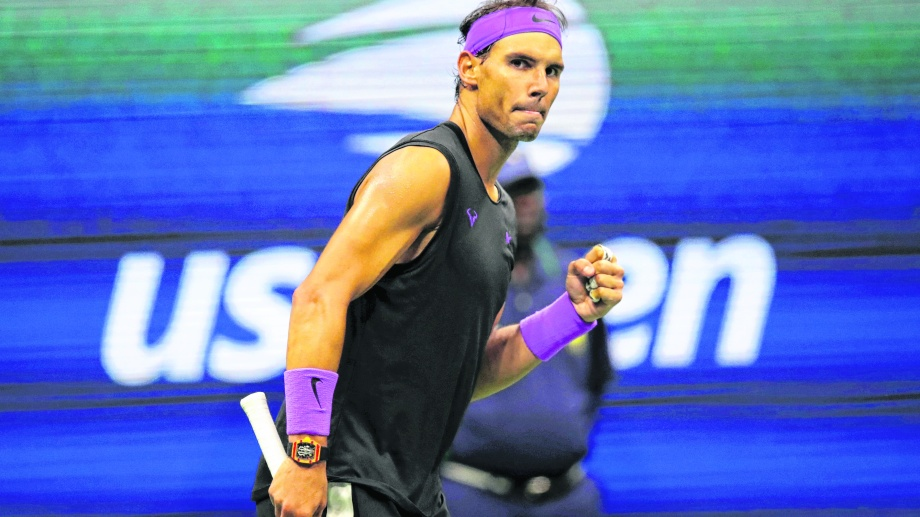 Rafa podrá quedar a un Grand Slam del récord de Federer. (Foto: AP)