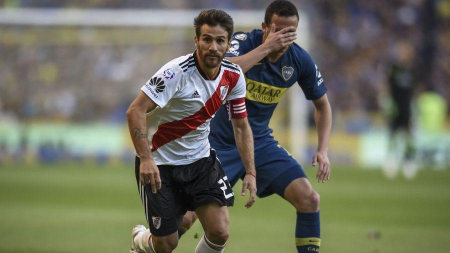 El capitán podrá ser utilizado con Gallardo para la ida con Boca.