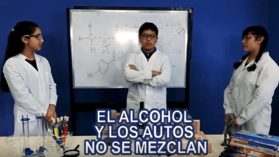 Imagen del video ganador en la Semana sin alcohol en Bariloche.