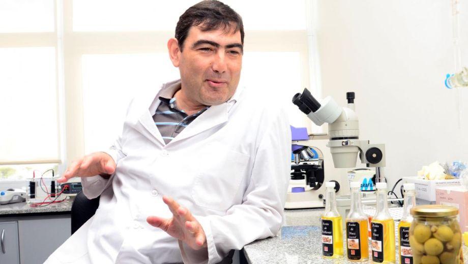 Daniel Barrios es secretario de Investigación de la Sede Atlántica de la UNRN. Foto: Marcelo Ochoa.