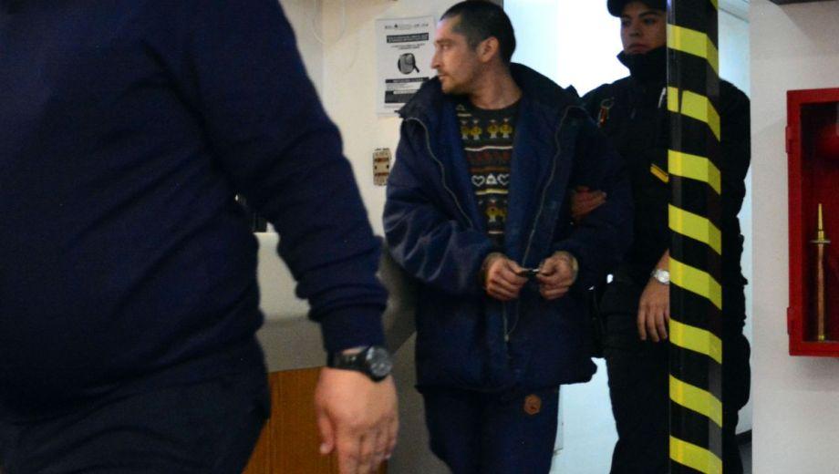 El detenido recibió una preventiva de cuatro meses. Foto: Marcelo Ochoa