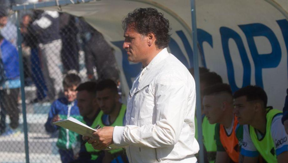 Del Cero toma nota. Su equipo tuvo un arranque de torneo notable y es uno de los tres punteros. (Foto: Pablo Leguizamón)