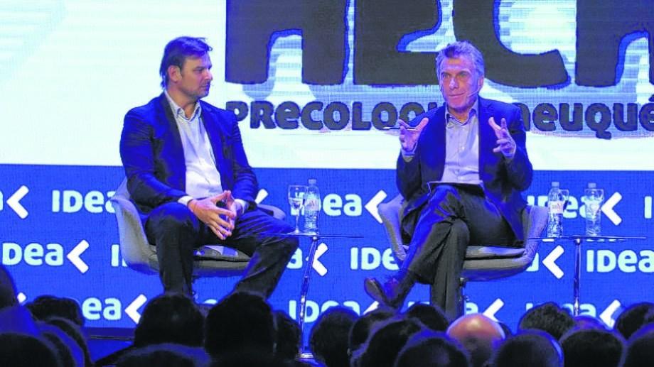 El CEOde Vista criticó la medida del presidente. En junio pasado compartieron panel en el Precoloquio de IDEA en Neuquén.
