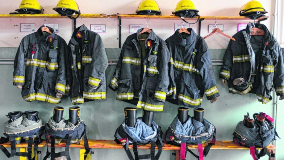 Además de mucho esfuerzo de cada voluntario, la tasa que financia el Simbov es indispensable para que los cuatro cuarteles de la ciudad estén en condiciones de combatir incendios. Foto: Alfredo Leiva