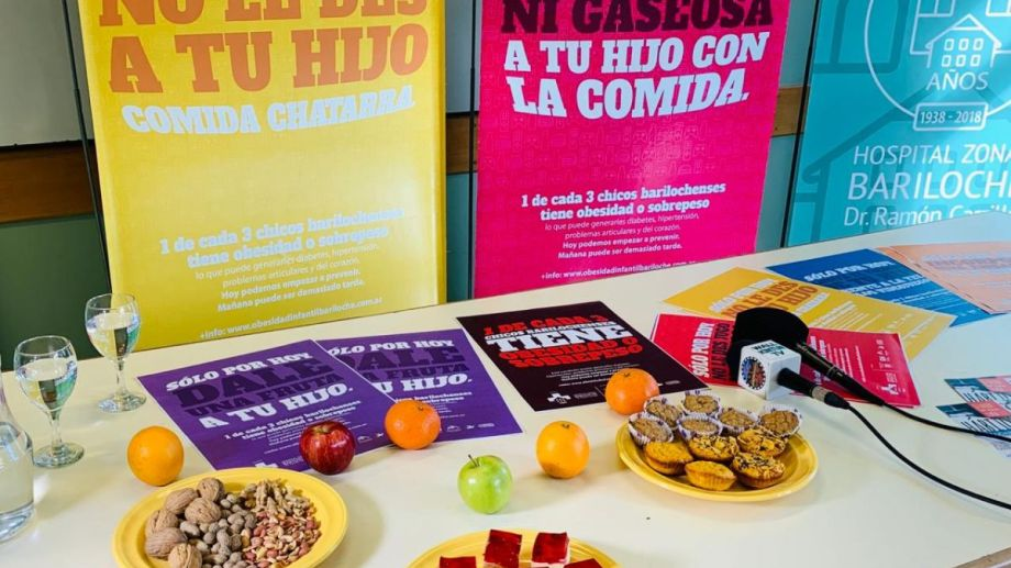 Los especialistas aseguran que mucha gente consulta por cuestiones de sobrepeso u obesidad en los niños. Foto: gentileza