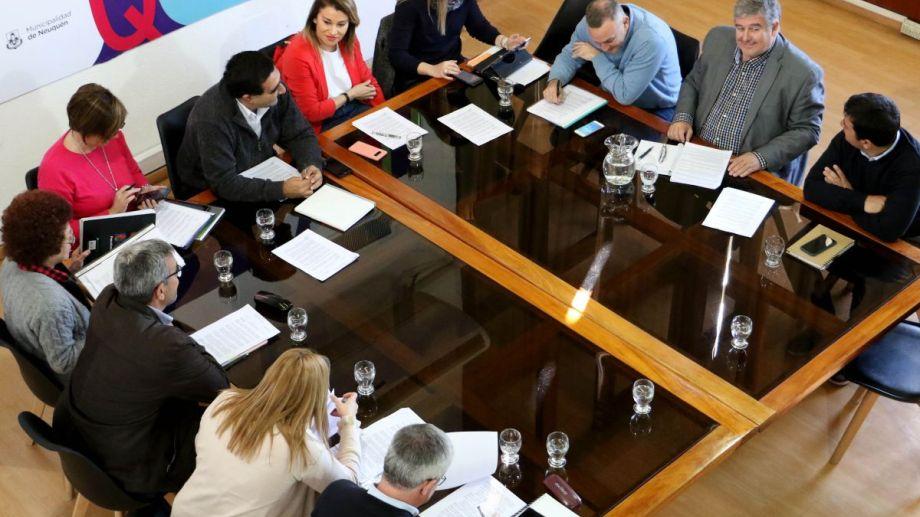 La reunión se realizó esta mañana  en el Palacio Municipal  Foto: Prensa Municipal