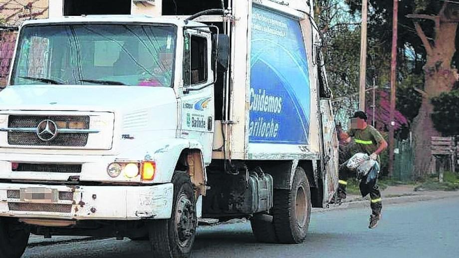 El camión recolector pasará el martes 24 por el microcentro a partir de las 16. Foto: archivo