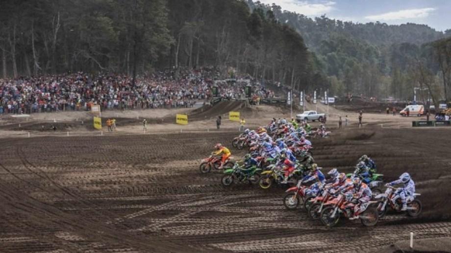 El Mundial de motocross seguirá en Villa La Angostura. Gentileza.