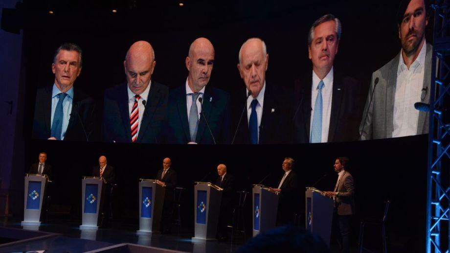 Primer debate presidencial 2019.
