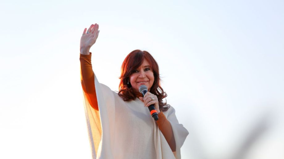 Cristina Fernández de Kirchner realizó su saludo de año nuevo mediante Twitter. (Foto: Télam)