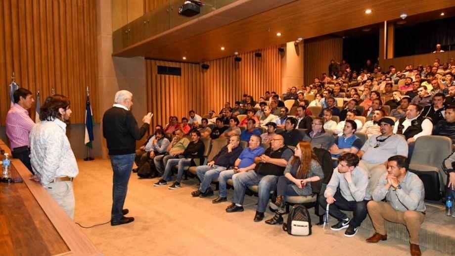 La asamblea permanente se coordinó ayer en la sede del sindicato en Neuquén.