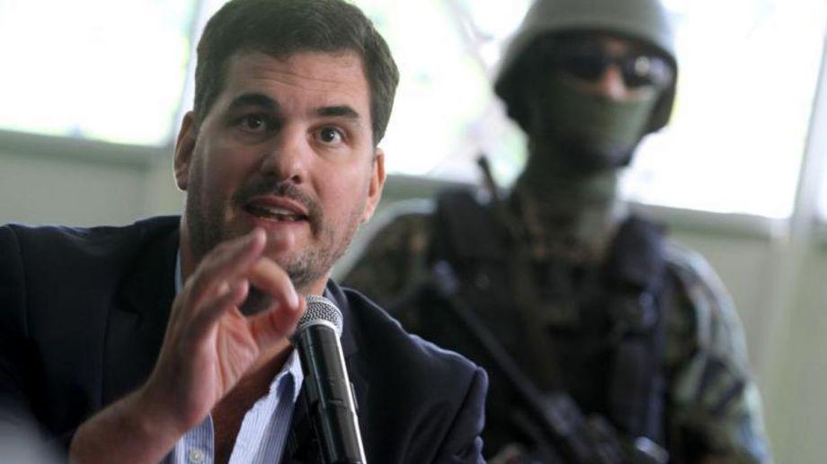 Eugenio Burzaco, secretario de Seguridad.