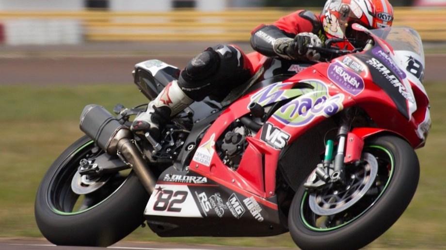 Leo Villegas será una de las figuras en la sexta fecha del motociclismo de velocidad en Centenario. Gentileza.