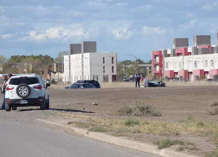 El hombre no logró superar las heridas del accidente y falleció en el hospital. Foto: gentileza Taxistas en Movimiento.