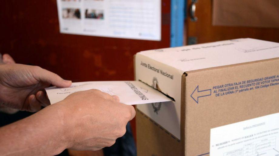 Las PASO son parte del cronograma electoral, pero el Congreso podría suspenderlas. (Archivo Yamil Regules).-