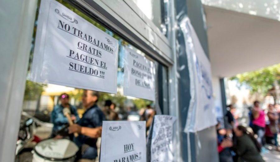Las protestas volverán a las puertas de las instituciones de salud, en Roca. (Foto: archivo)