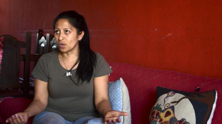 Magdalena Maragaño estuvo este martes en la audiencia en la que se leyó la sentencia que declaró culpable a su expareja. (Foto: Alfredo Leiva)