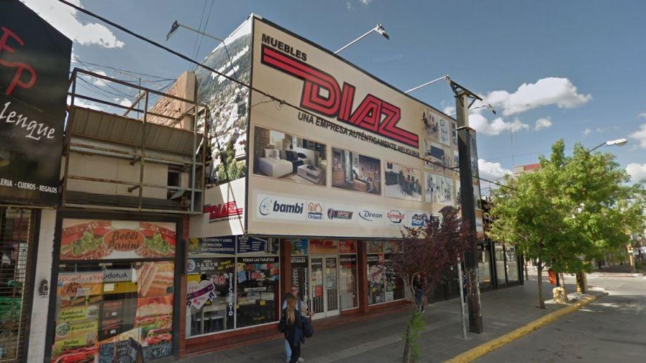 El robo fue el 10 de octubre en el local ubicado en Perito Moreno 180. (Foto: Captura Google Maps.-)