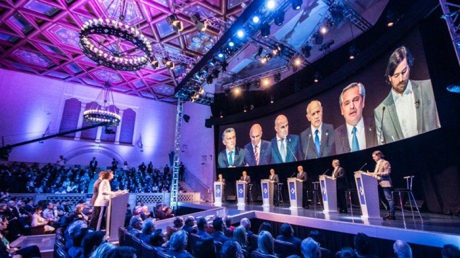 Los seis candidatos tuvieron sus idas y vueltas picantes. - (Foto: gentileza)