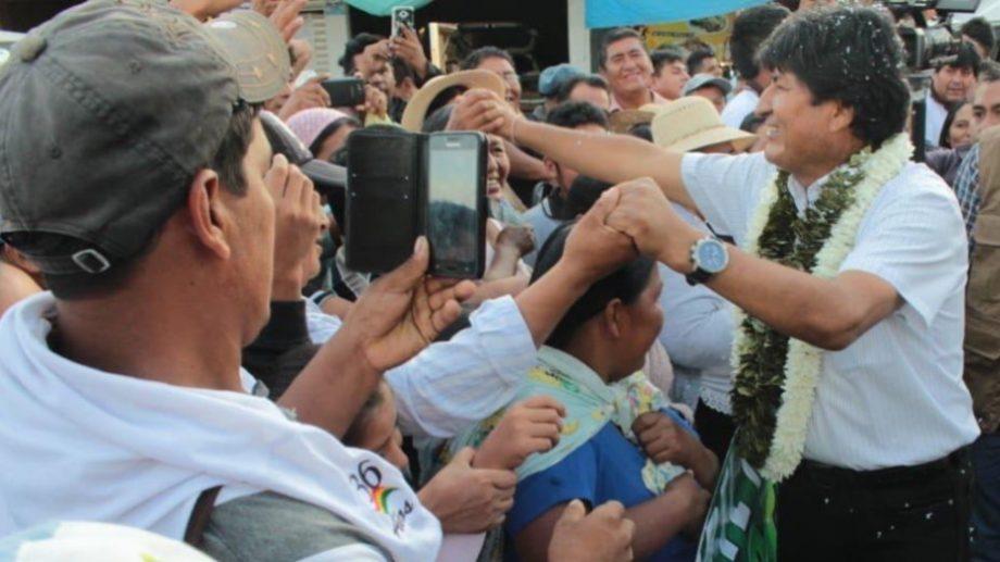 """""""El esfuerzo y compromiso con Bolivia no han sido en vano"""" dijo Morales en redes. (Foto: Twitter)"""