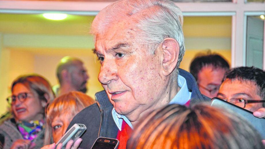 Pereyra descartó polemizar con la UOCRA y apuntó contra YPF. (Archivo).-