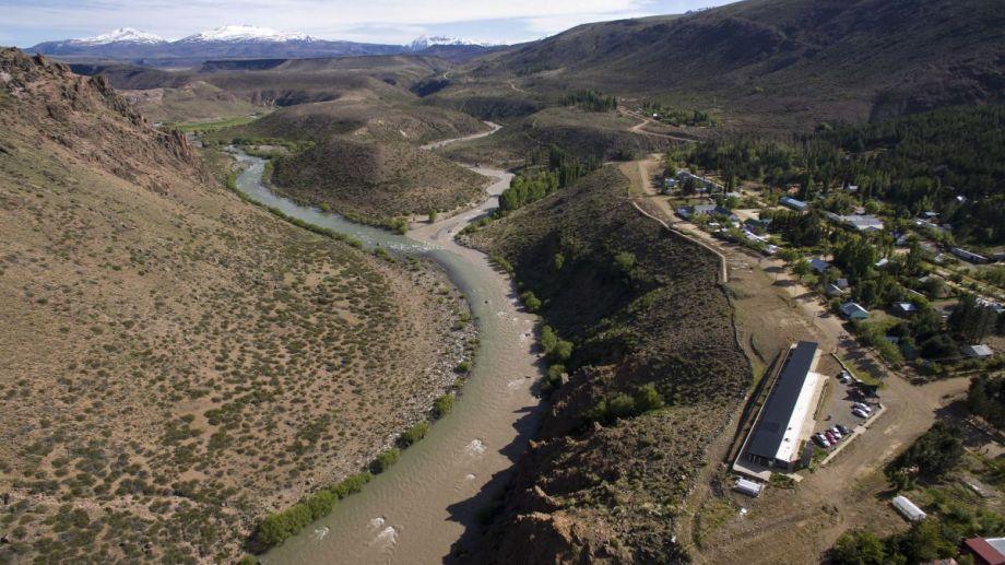 La iniciativa renovable está a 35 kilómetros al norte de la localidad de Varvarco.