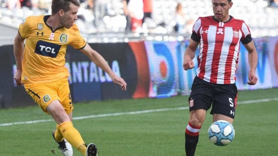 El roquense tuvo su debut goleador en el Pincha.