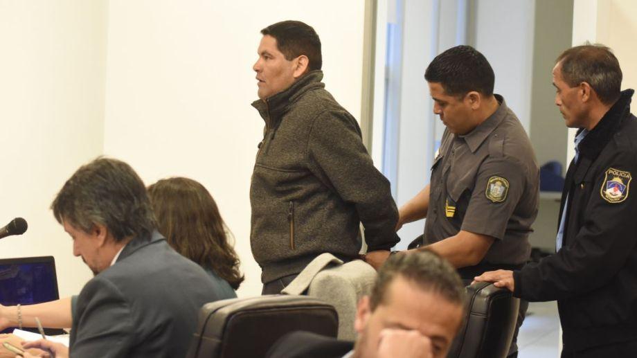 El delito que se le imputa prevé una pena de prisión perpetua. Foto Juan Thomes.