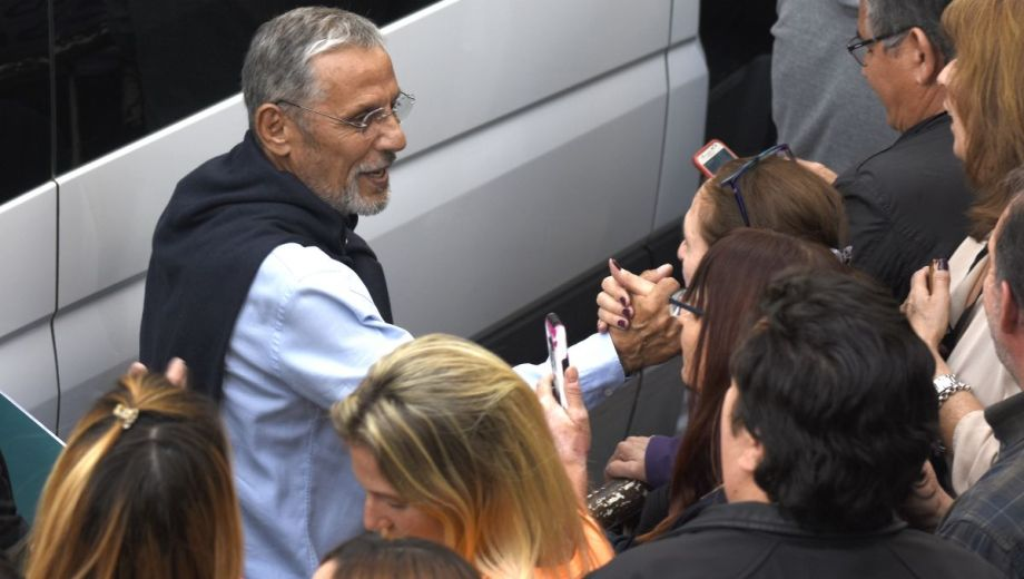 """Quiroga participó el martes de la marcha del """"Sí, se puede"""" junto al presidente Mauricio Macri."""