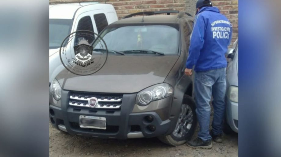 El Fiat Palio Adventure fue robado la semana pasada en Cipolletti. (Foto: Gentileza.-)