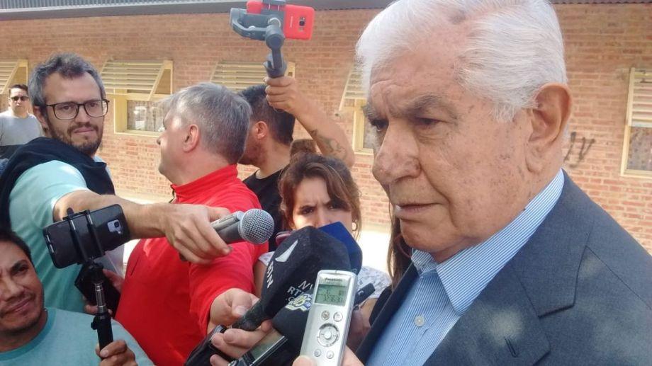 En estas elecciones, Guillermo Pereyra tiene en juego su cargo y la presencia del MPN en la Cámara Alta. (Oscar Livera).-