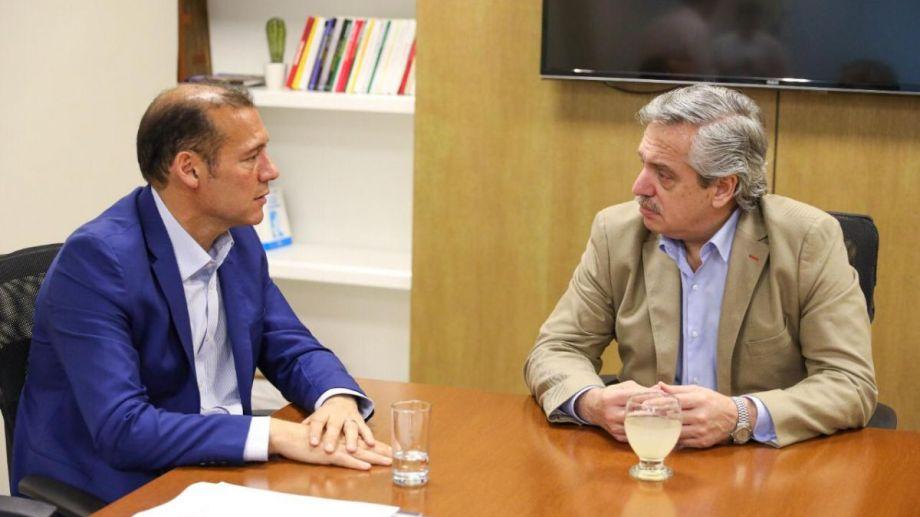 Esta noche, Gutiérrez agasajará con una cena al presidente. Foto archivo.